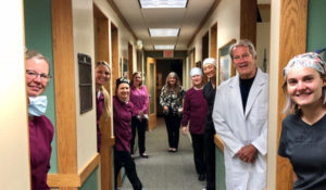Dr. McBeth and the staff of Suite 7